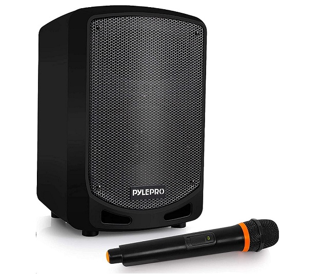 Pyle Audio Karaoke Sound System With Wireless Microphone PSBT65A