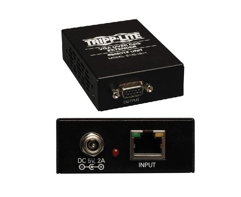 Tripp Lite VGA Over Cat5/Cat6 Extender Receiver B132-100-1