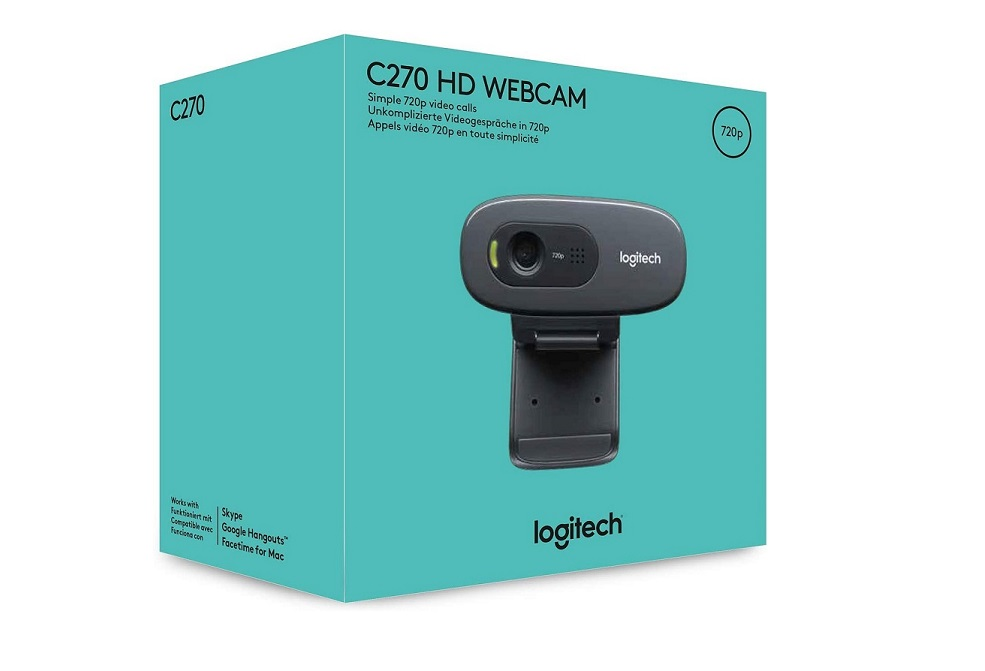 Logitech C270 3MP HD WebCam Retail 960-000694