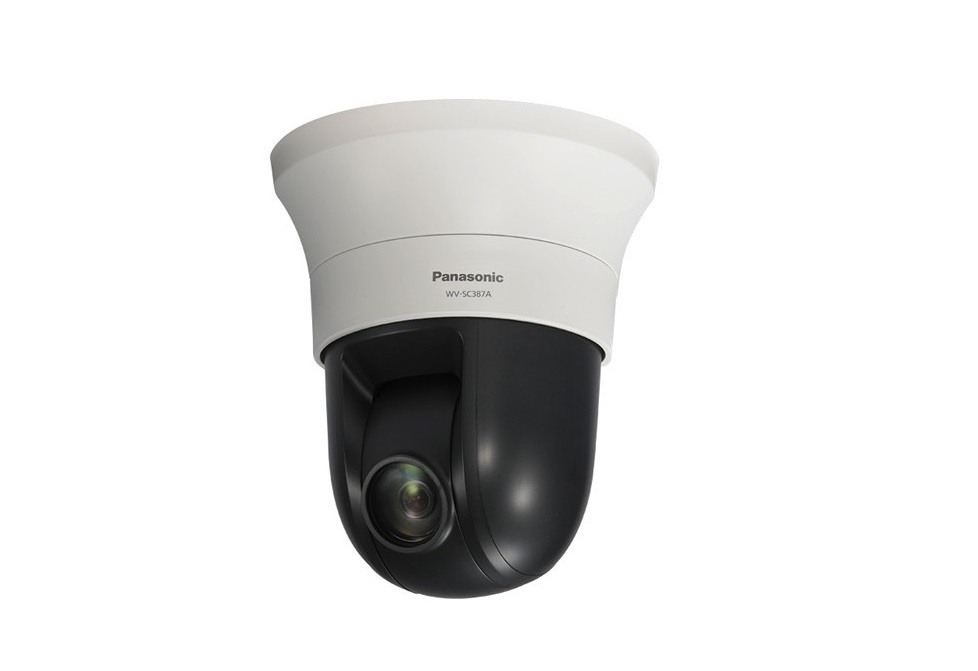 Panasonic HD PTZ 720p Network Dome Camera WV-SC387A