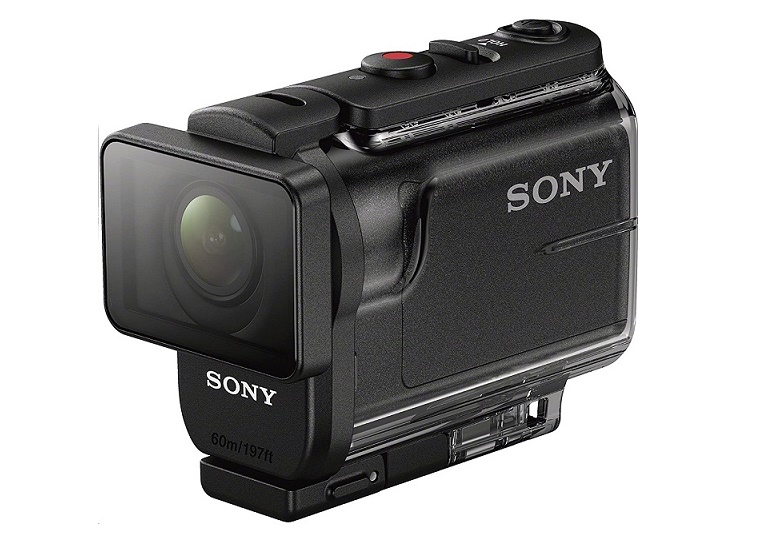 Sony HDR-AS50 HD Action Usb Camera With Live View Remote Black HDRAS50R/B