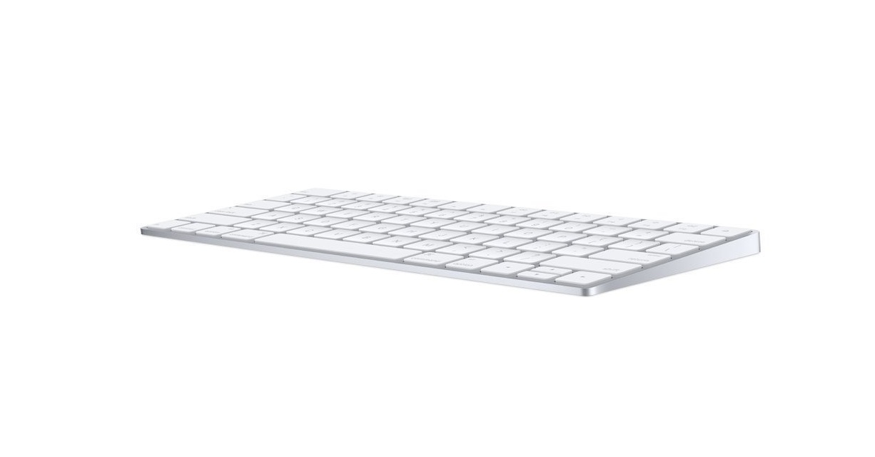 Apple Magic Wireless BlueTooth White Keyboard MLA22LL/A