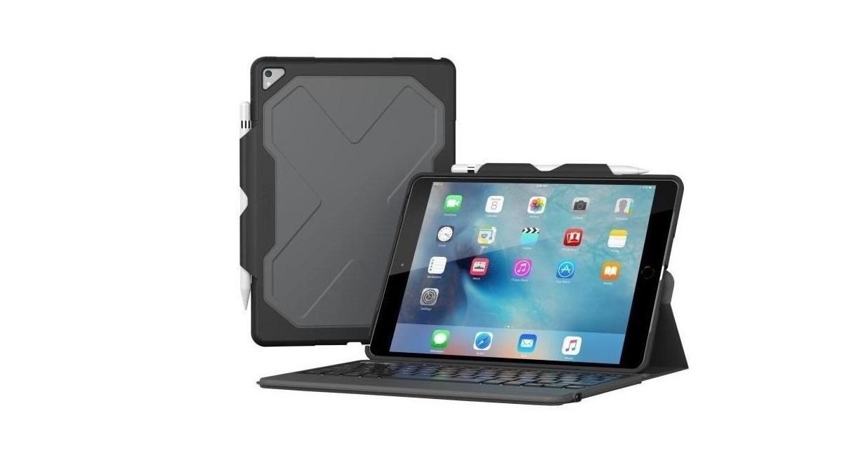 Zagg Rugged Messenger Keyboard Case For Ipad Pro 10.5 ID9RMK-BB0
