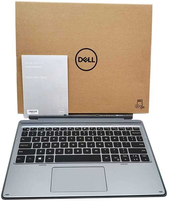 Dell Detachable Keyboard For Latitude 7200 2 in 1 With Touchpad AG00-BK-US