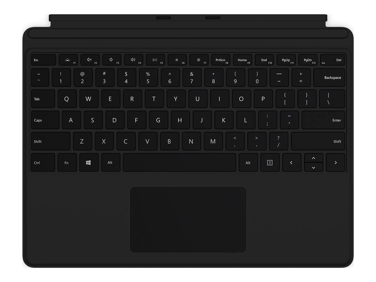 Microsoft Surface Pro X Keyboard With Trackpad Black QJX-00001