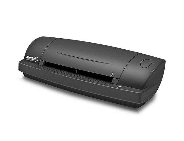 Ambir Technology DS687 Duplex A6 Id Card Scanner 48bit Color 8bit Grayscale 600dpi Optical DS687-AS