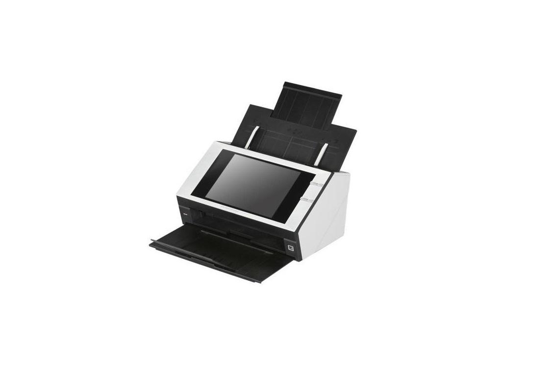 Fujitsu ScanSnap N1800 600dpi Document Scanner 24bit Color RJ45 PA03609-B005