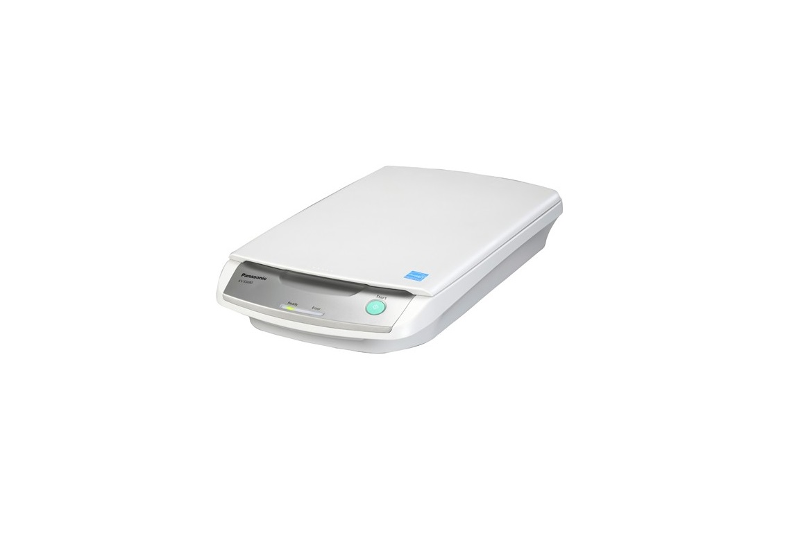 Panasonic KV-SS080 Desktop USB Flatbed Document Scanner White