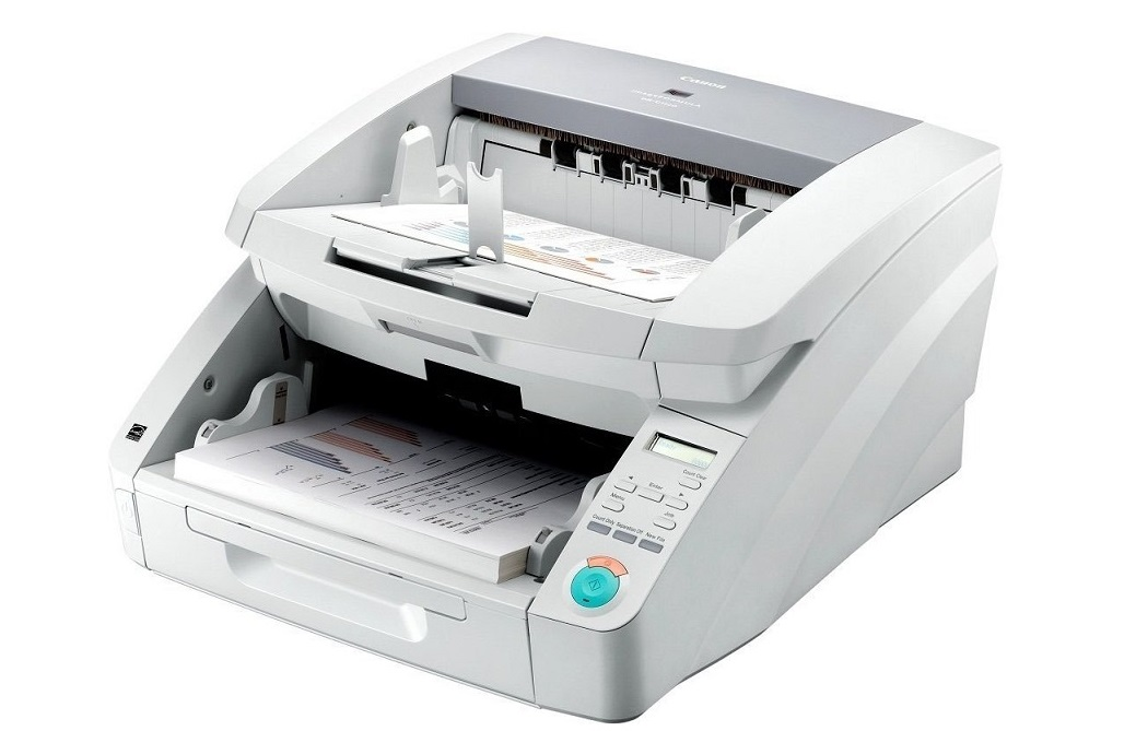 Canon Imageformula DR-G1100 Sheetfed Document Color Scanner USB 8074B002