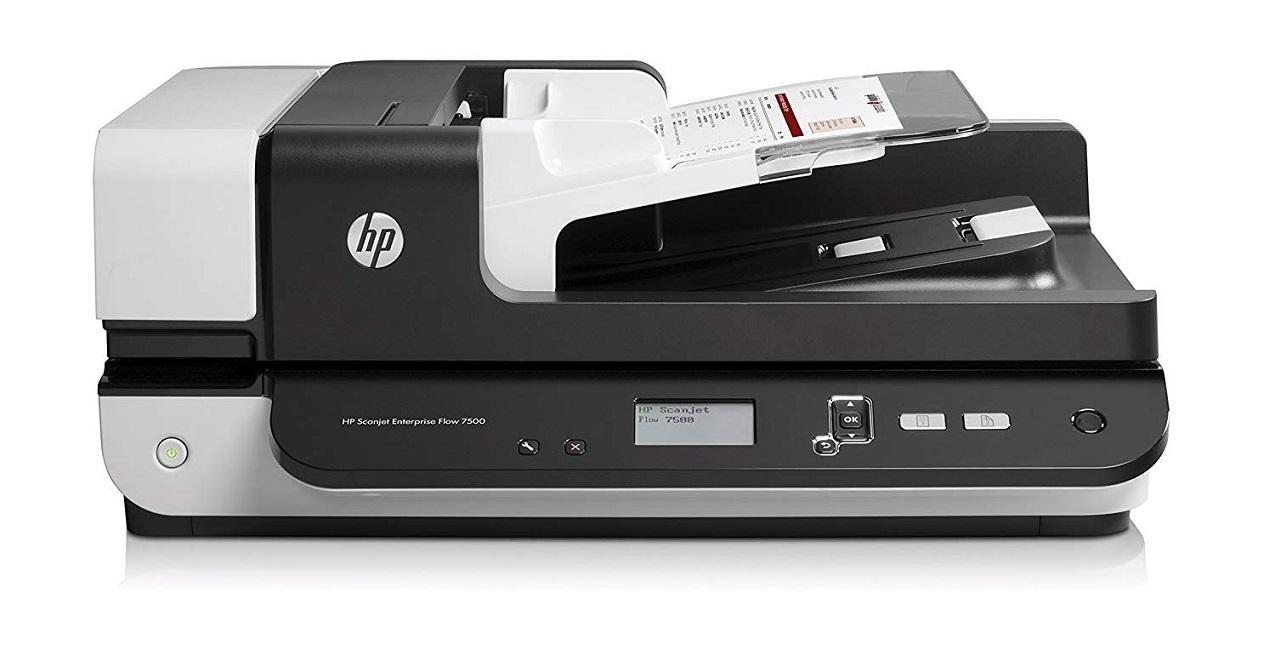 HP ScanJet Enterprise 7500 600x600dpi Document Flatbed Scanner L2725B#BGJ