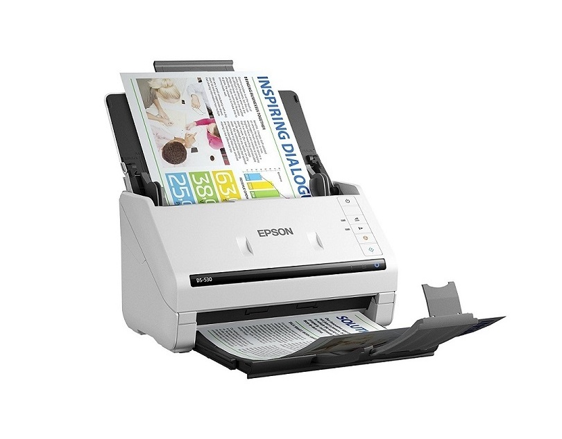 Epson DS-530 Workforce 300dpi Duplex Document Scanner 35ppm USB 3.0 B11B236201