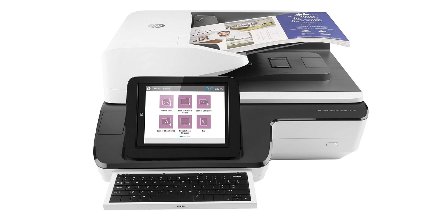HP ScanJet Enterprise Flow N9120 fn2 Document Scanner L2763A#BGJ