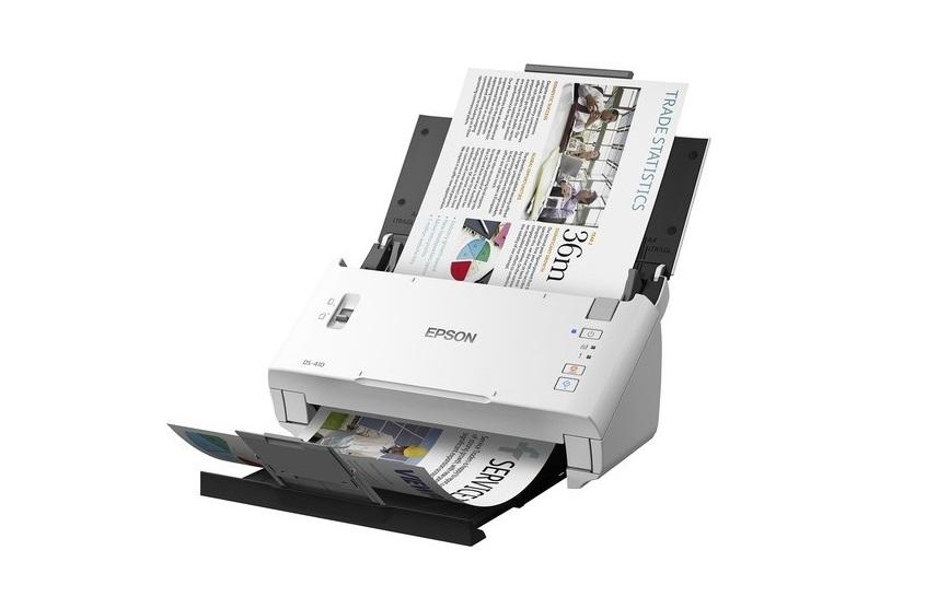 Epson DS-410 Duplex Document 600dpi Sheet-fed Scanner USB B11B249201