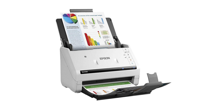 Epson DS-575W Wireless Color Usb Document Scanner B11B228202