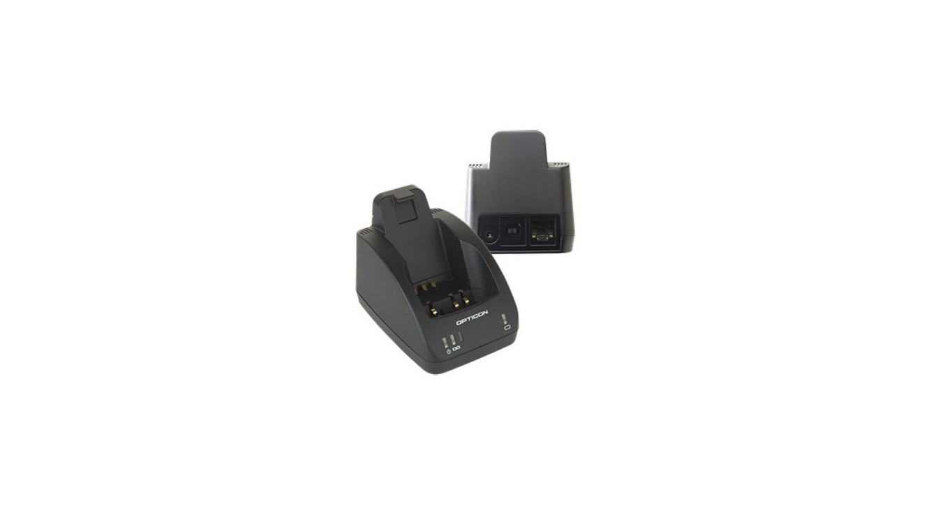 Opticon Cradle Charger For OPH-1004/1005 Black Required P/S CRD-1006