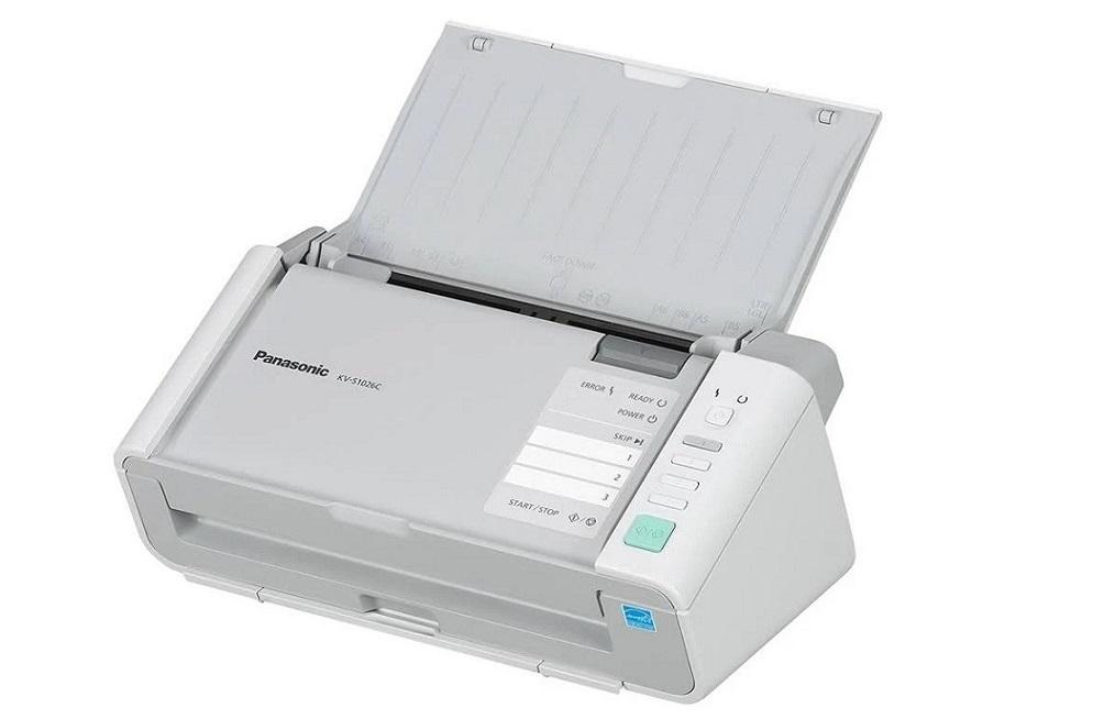 Panasonic KV S1026C Compact Document Color Sheetfed Duplex Scanner USB 3.0 KV-S1026C-MKII