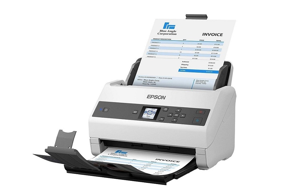 Epson DS-970 Color Duplex Workgroup USB 3.0 Sheetfed Document Scanner B11B251201