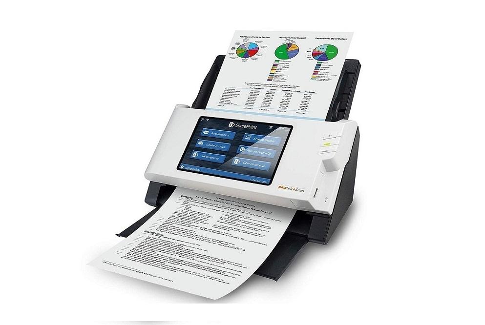 Plustek Escan A250 Color Document Usb Network Scanner 783064637831