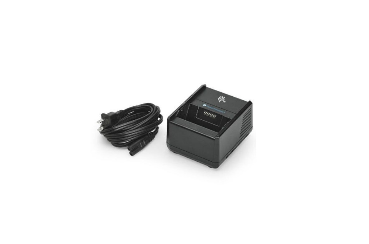 Zebra SAC-MPP-1BCHGUS1-01 One Slot Battery Charger For ZQ600
