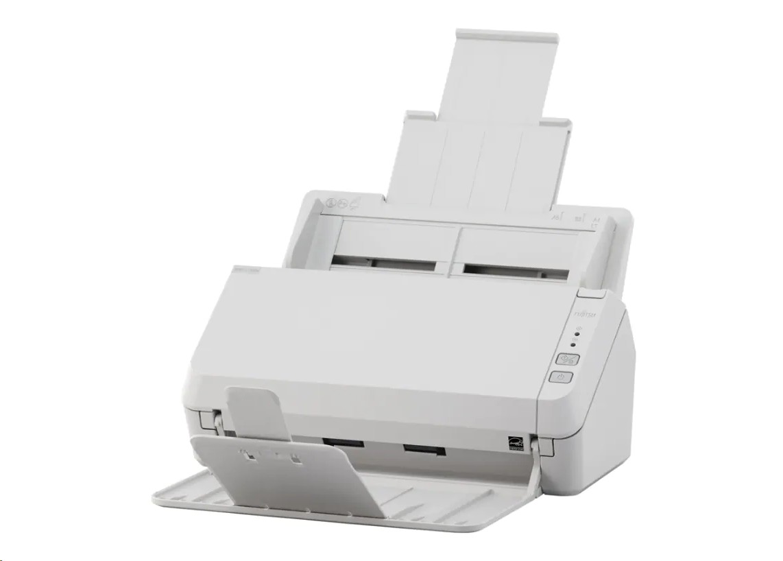 Fujitsu SP-1120N Adf Duplex Document Image Scanner White PA03811-B005