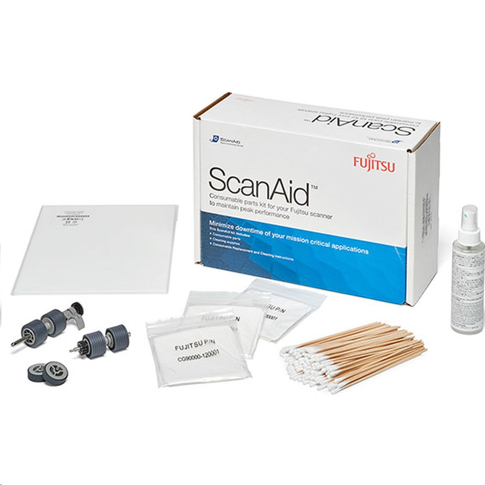 Fujitsu Scanaid Cleaning Consumables Kit For fi-6800 And fi-6400 CG01000-530801