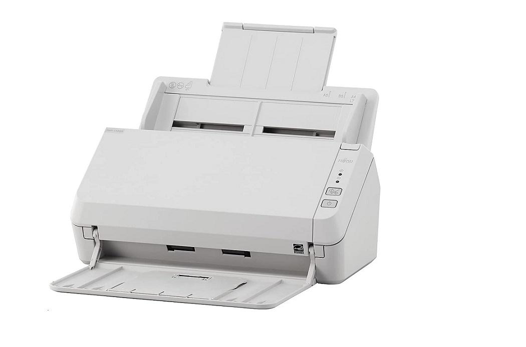 Fujitsu Imagescanner SP-1130N USB3.0 Document Scanner White PA03811-B025