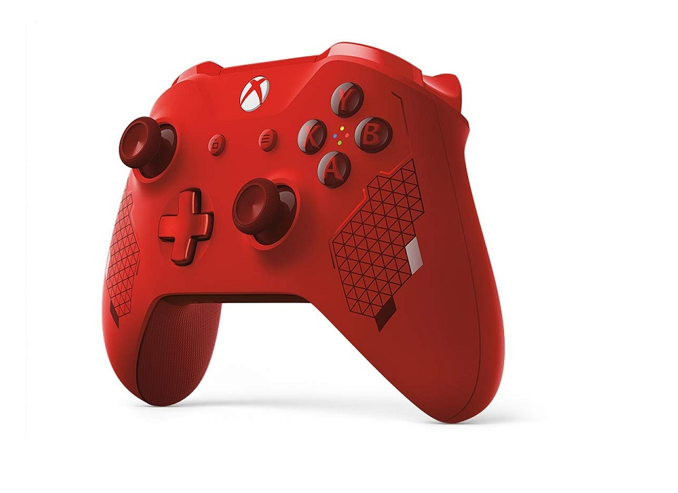 Microsoft Wireless Controller Sport Red For Xbox Series X One And Pc WL3-00125