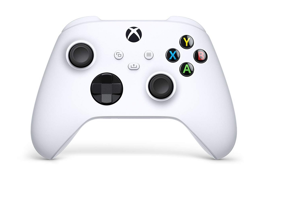 Microsoft Wireless Controller Robot White For Xbox One And Pc QAS-00001