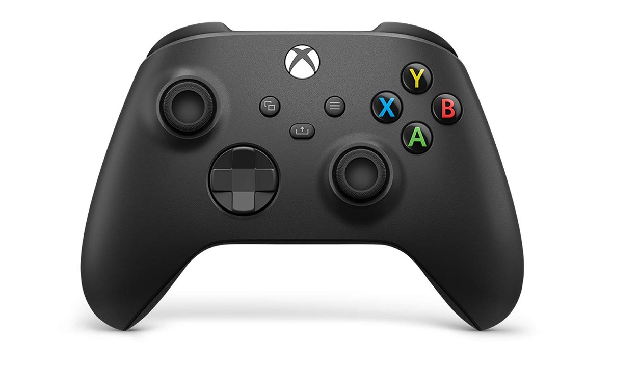 Microsoft Wireless Controller Carbon Black For Xbox One And Pc QAT-00001