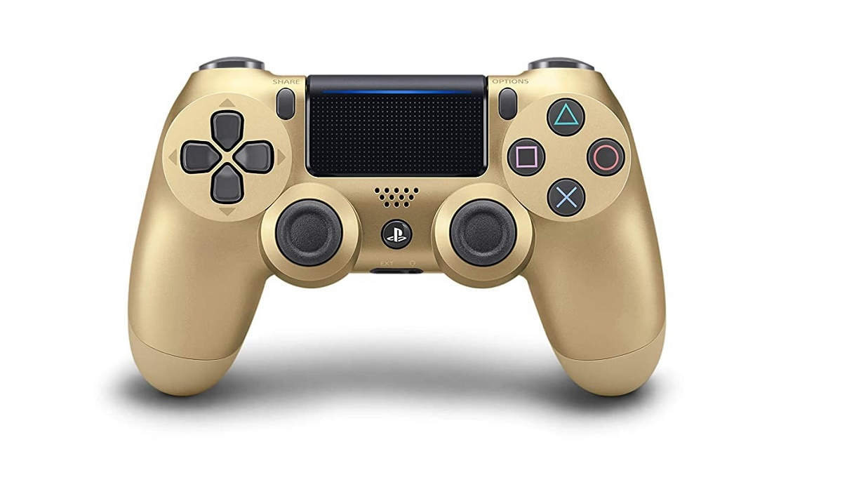 Sony Dualshock 4 Wireless Controller For Playstation Gold 3001819