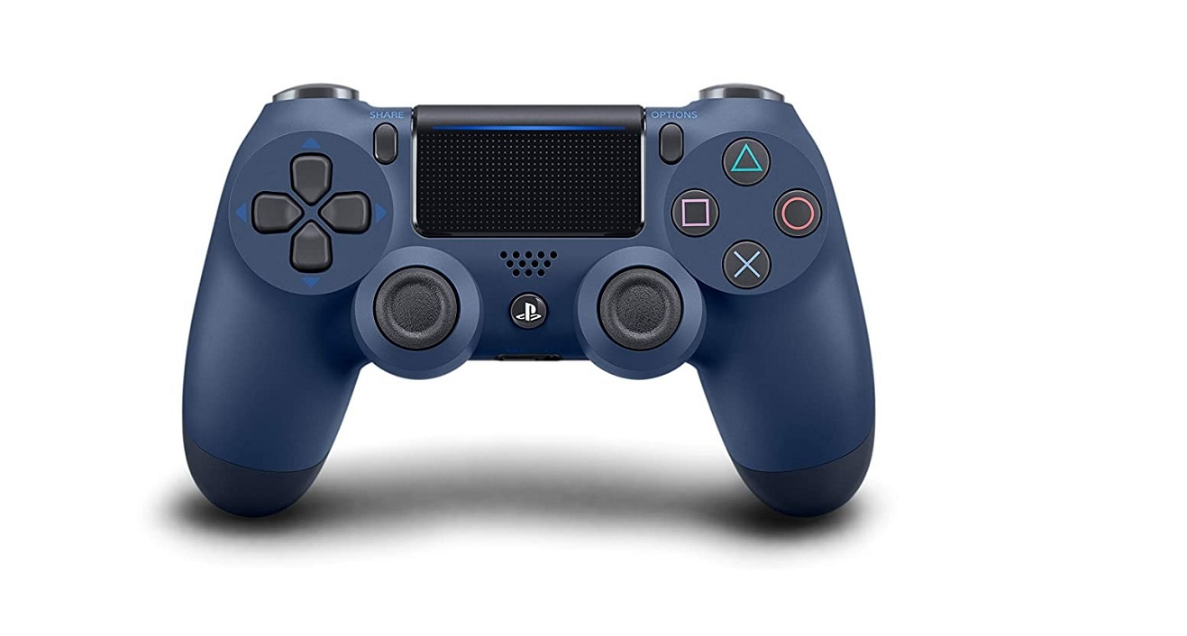 Sony Dualshock 4 Wireless Controller For Playstation Midnight Blue 3002841