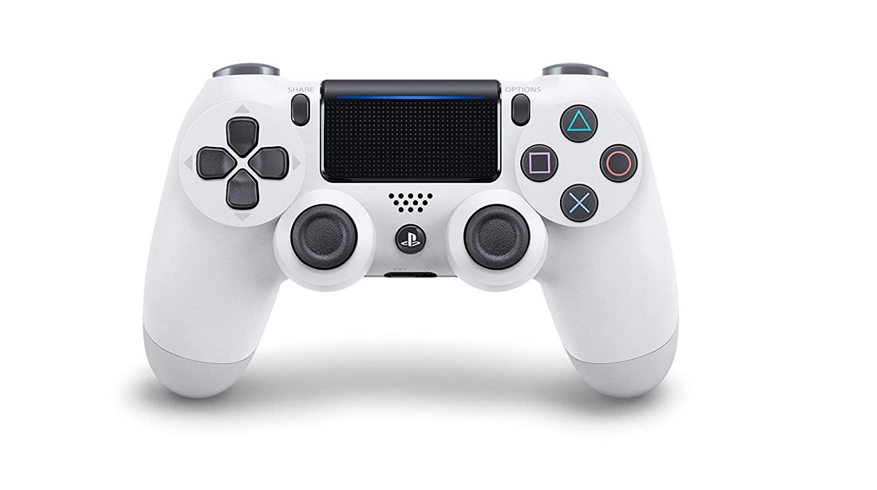 Sony Dualshock 4 Wireless Controller For Playstation Glacier White 3004377