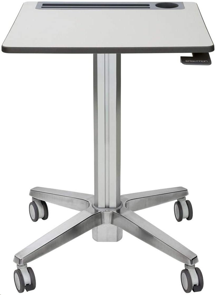 Ergotron Learnfit Sit-Stand Desk White Silver 24-547-003