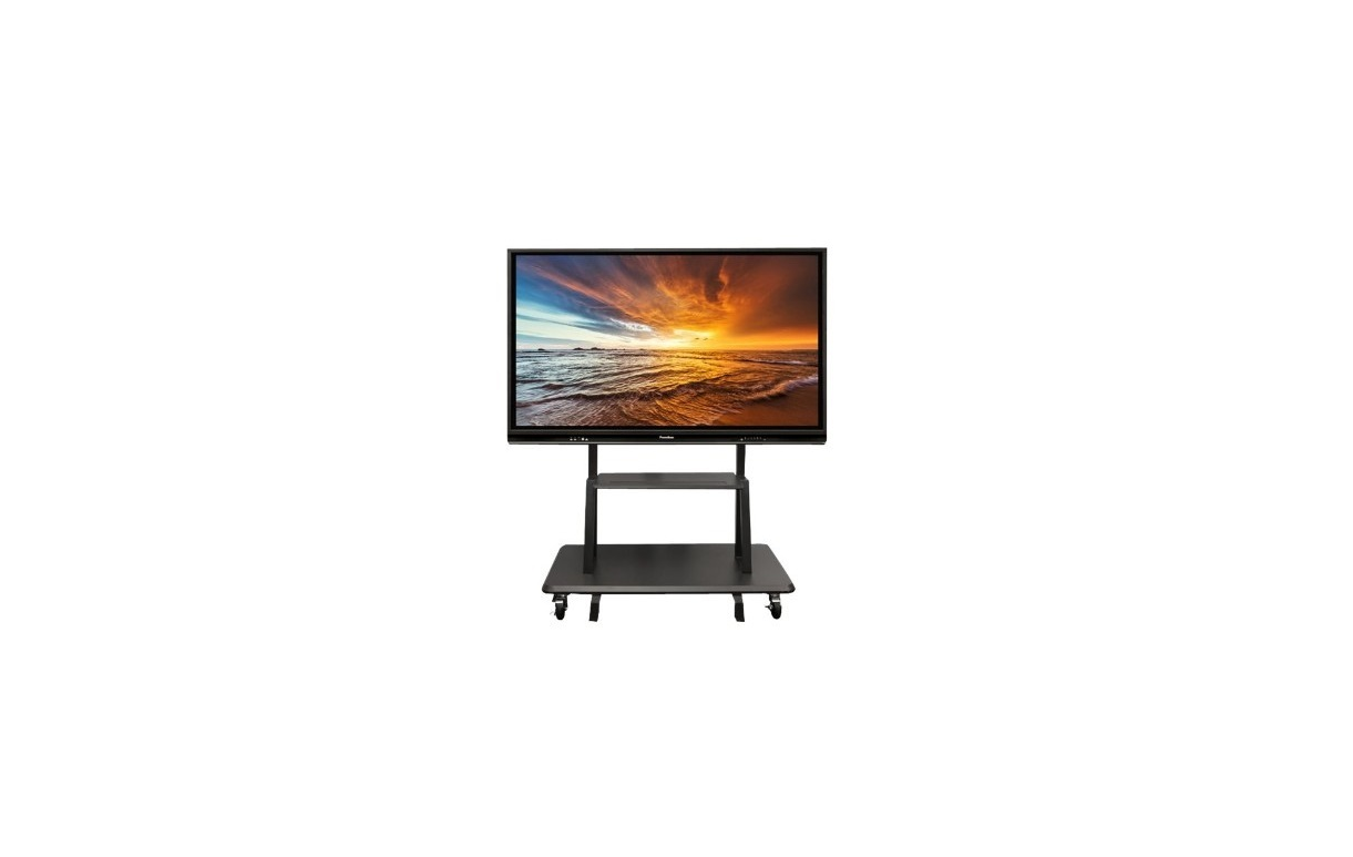 Promethean APTMS-3 Non-Adjustable Mobile Stand For 65-86 Monitors APTMS-3