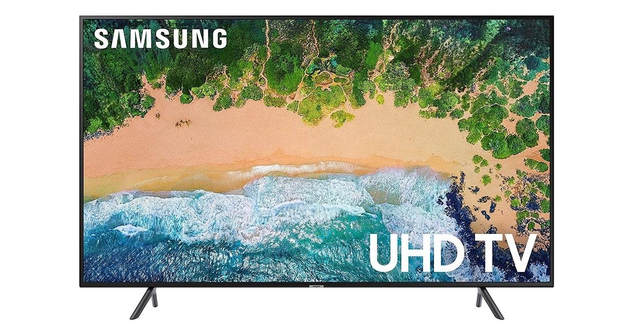43 Samsung NU7100 4K UHD 7 Series 3840x2160 Smart LED TV UN43NU7100FXZA