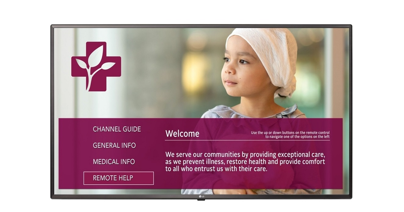 Lg Electronics 23.6 24LV570M 1366x768 Hdmi Usb Lan Hospital Led Tv 24LV570M/US