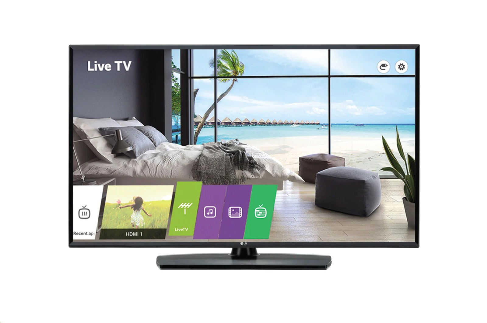 Lg Electronics 43 43LT560H Full Hd 1080p Hdmi Usb RS232 RJ45 Commercial Tv