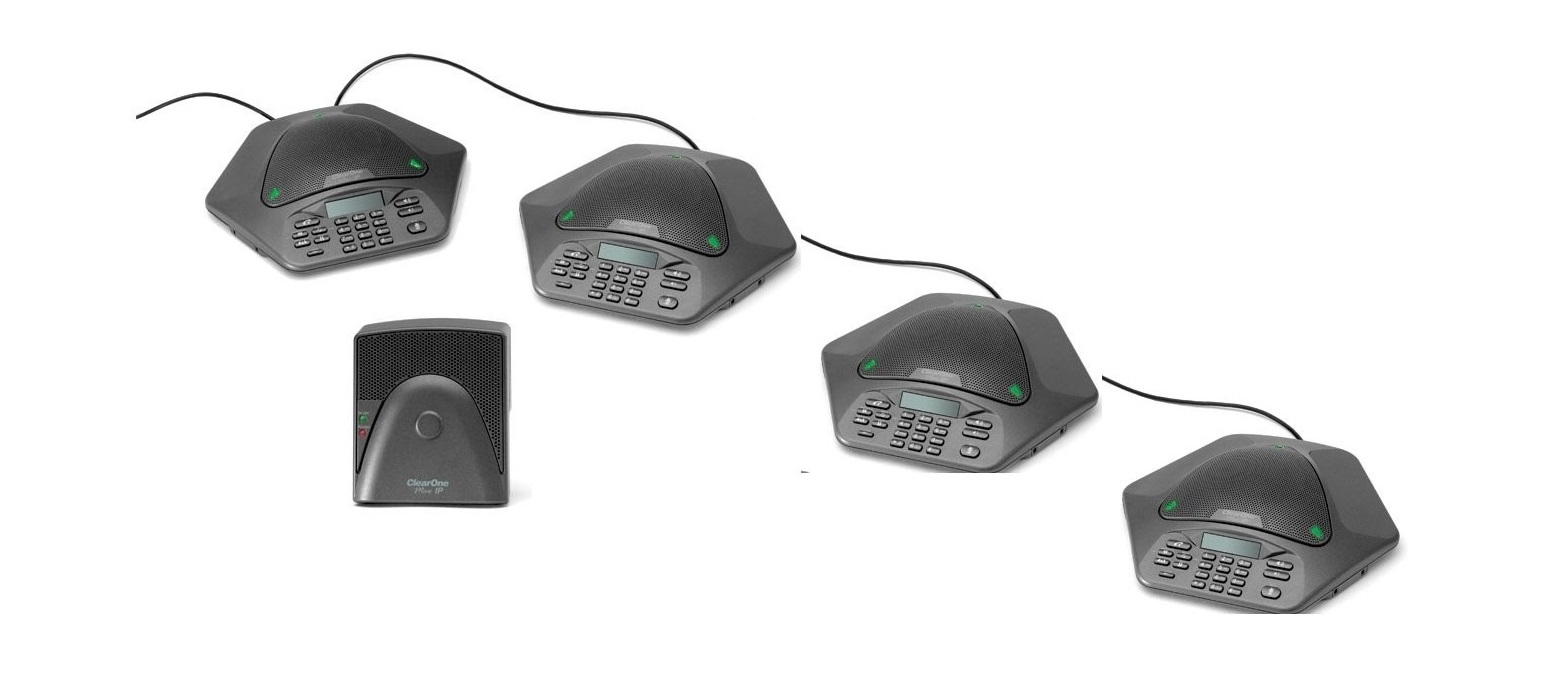 Clearone Maxattach Plus 2 Conference Phone 4-Pack 910-158-500-02