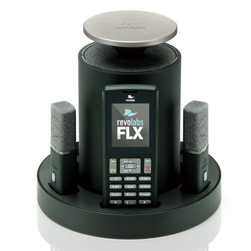 Revolabs FLX2 10-FLX2-101-VOIP IP Conference Station Wireless w/ one Omni and one Wearable Microphone