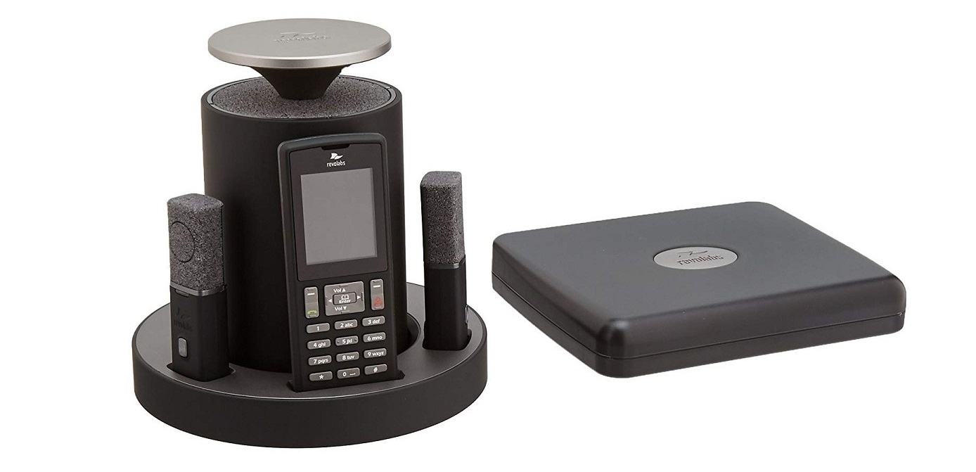 Revolabs FLX2 IP Conference Station Wireless VoIP 10-FLX2-200-VOIP