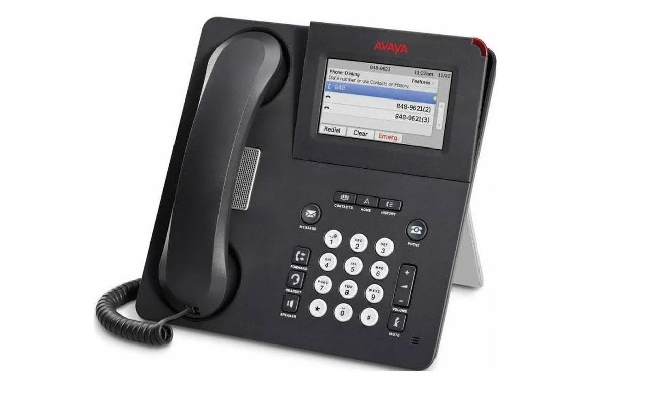 Avaya 9641GS IP Desk VoIP GigaBit Ethernet Phone 700505992