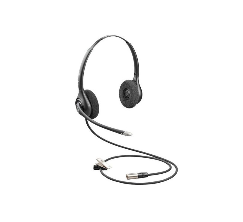 Plantronics 86872-01 HW261N-DC Dual Channel Wired Headset 86872-01