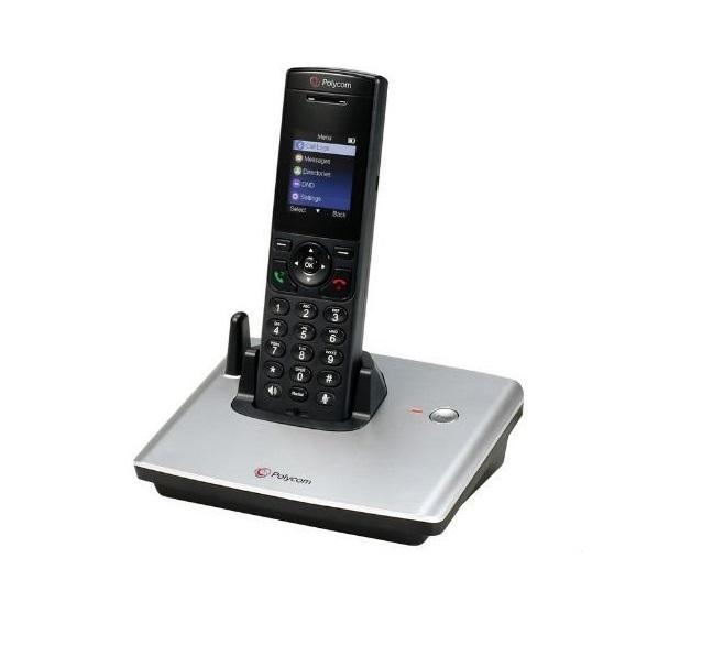 Polycom VVX D60 Expandable Cordless VoIP Phone 2200-17823-001