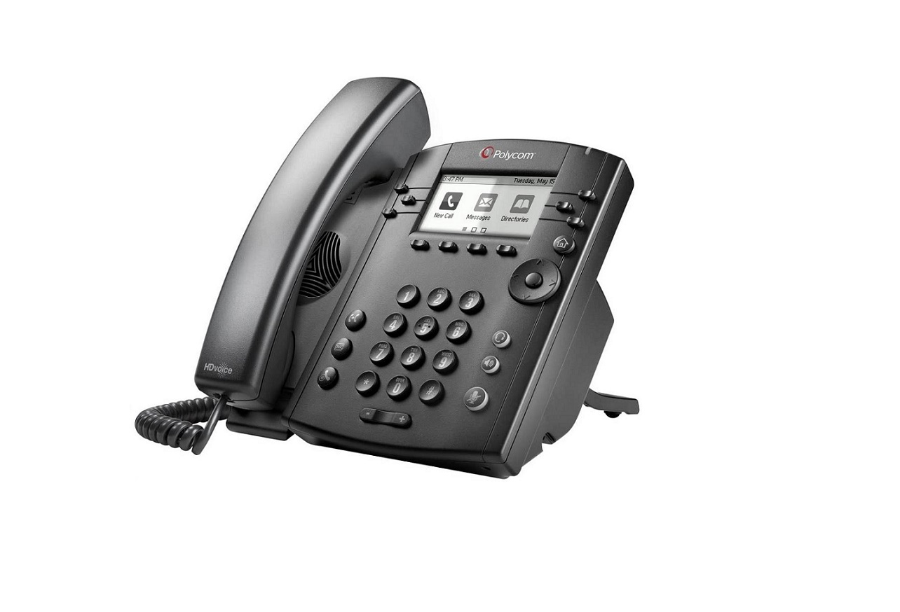 Polycom Vvx 311 2200-48350-019 6 Total Lines Ip Phone For Business Edition