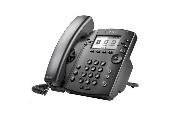 Polycom VVX 310 VoIP Phone Skype For Business Edition 2200-46161-019
