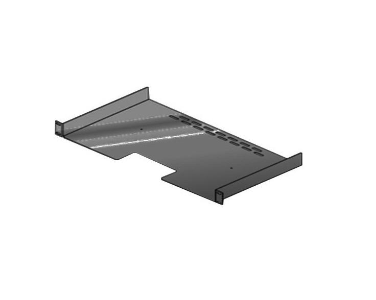 Polycom Rack Shelf 1U 1.75in x17.5 2215-06177-001 For RealPresence Group Series 300/310 and 500 Series Codecs