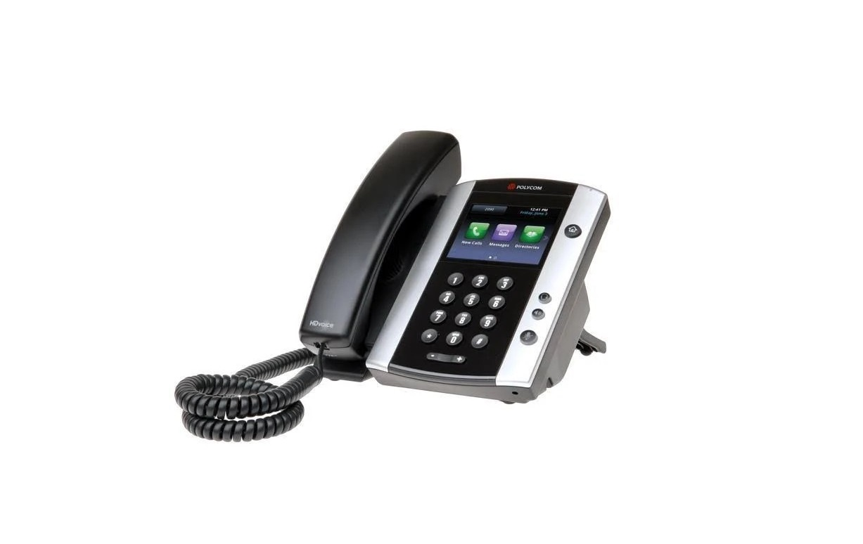 Polycom VVX 501 VoIP Skype Phone Black 2200-48500-019