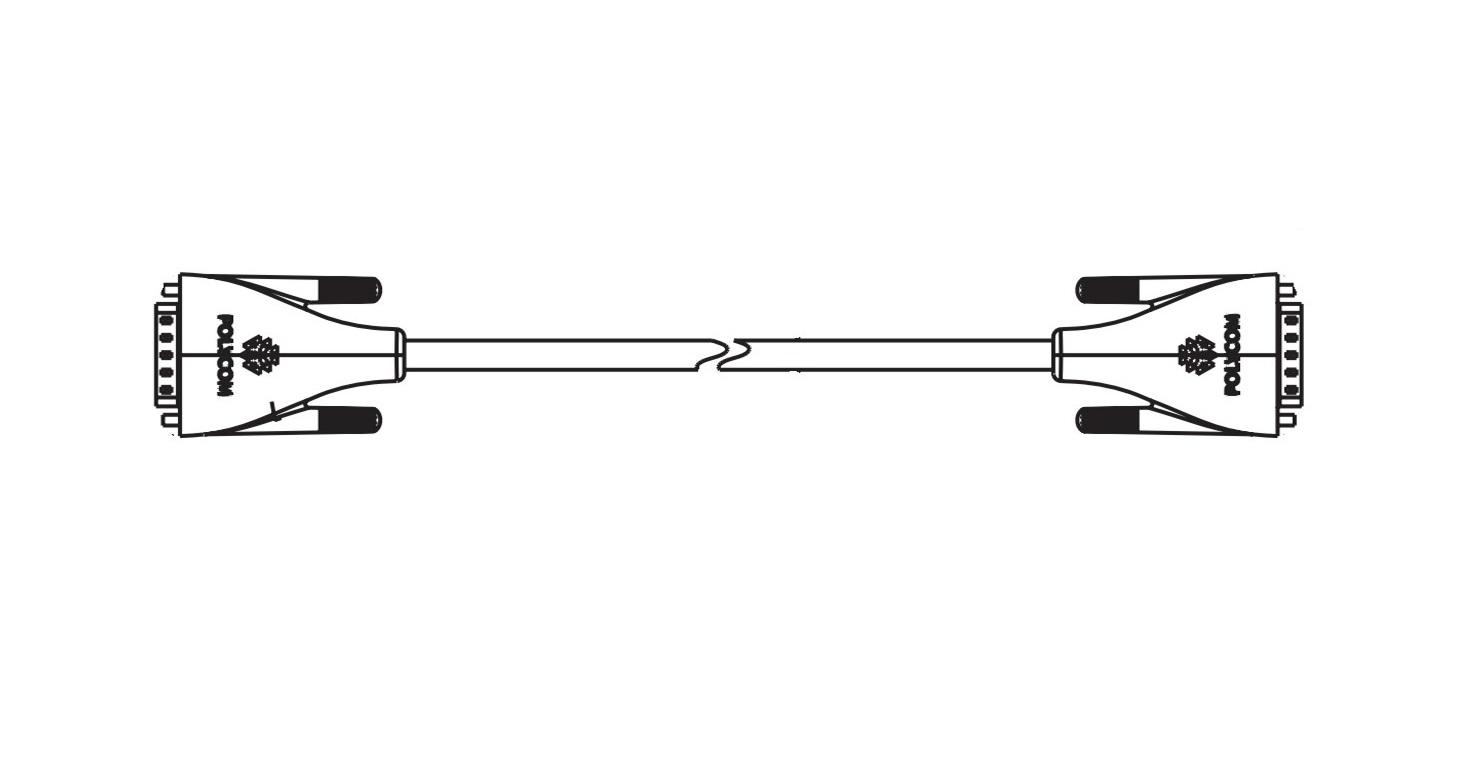 Polycom 30' Hdci Analog Camera Cable 2457-65015-010