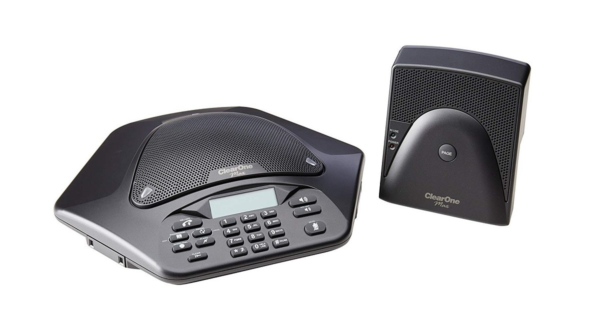 Clearone Maxattach Wireless Cordless Conference Phone 910-158-600