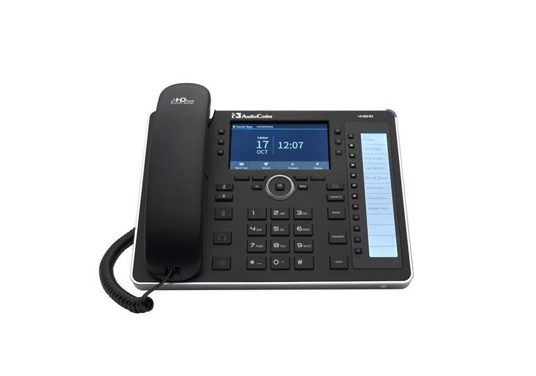 Audiocodes 445HD 6-Line GigaBit IP Phone UC445HDEG